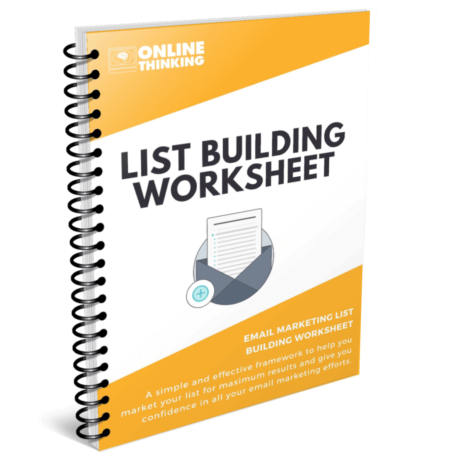 Email Marketing List Building Worksheet