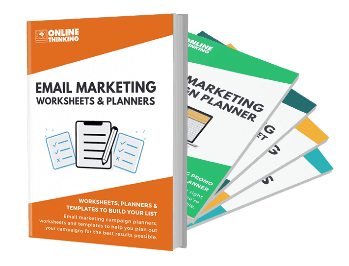 Email Marketing Planners & Worksheets