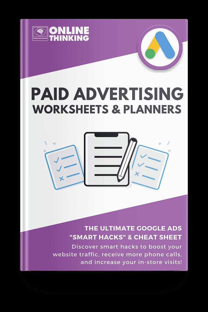Google Ads Checklist & Worksheet - MOCKUP