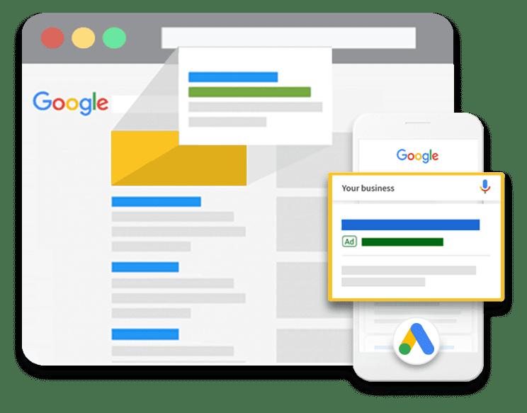 Google Ads Launch Plan Icon